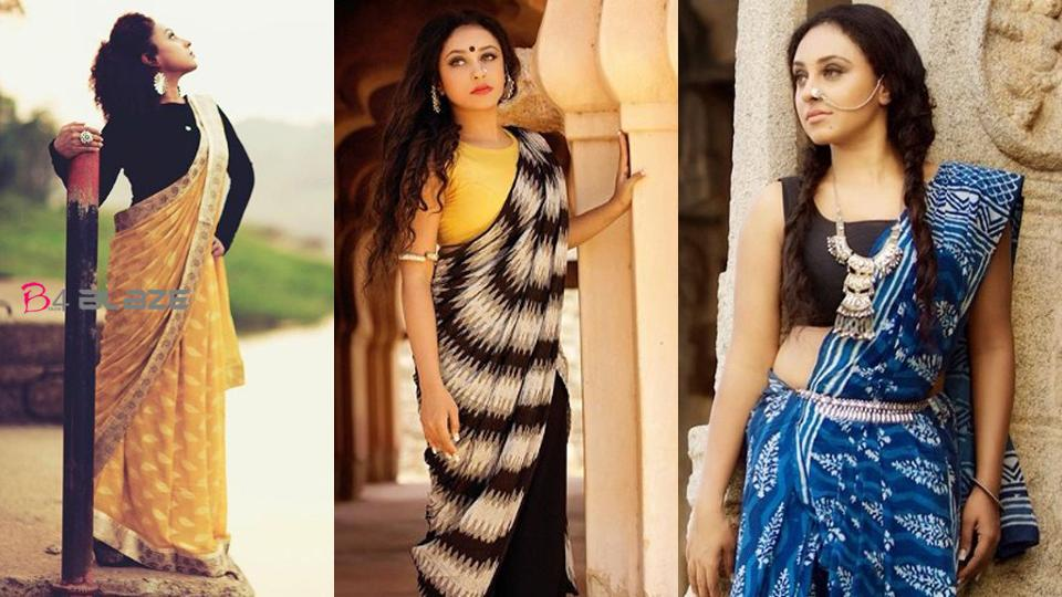 Pearle Maaney looking more beautiful in Saree, Photos are viral
