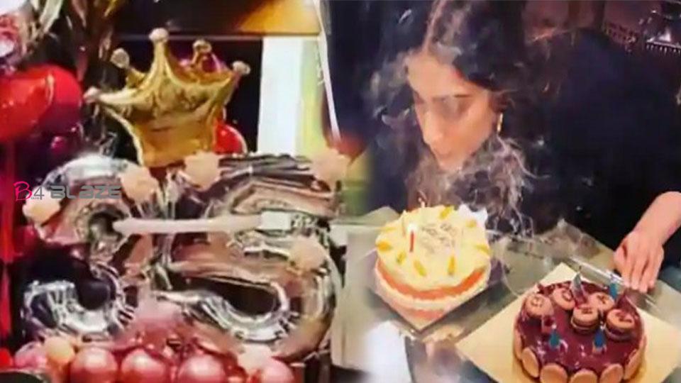 Happy Birthday Sonam Kapoor Sonam celebrates birthday with husband and family, see photos