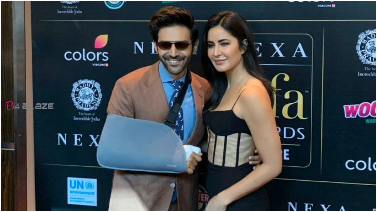 Karthik Aaryan and Katrina Kaif