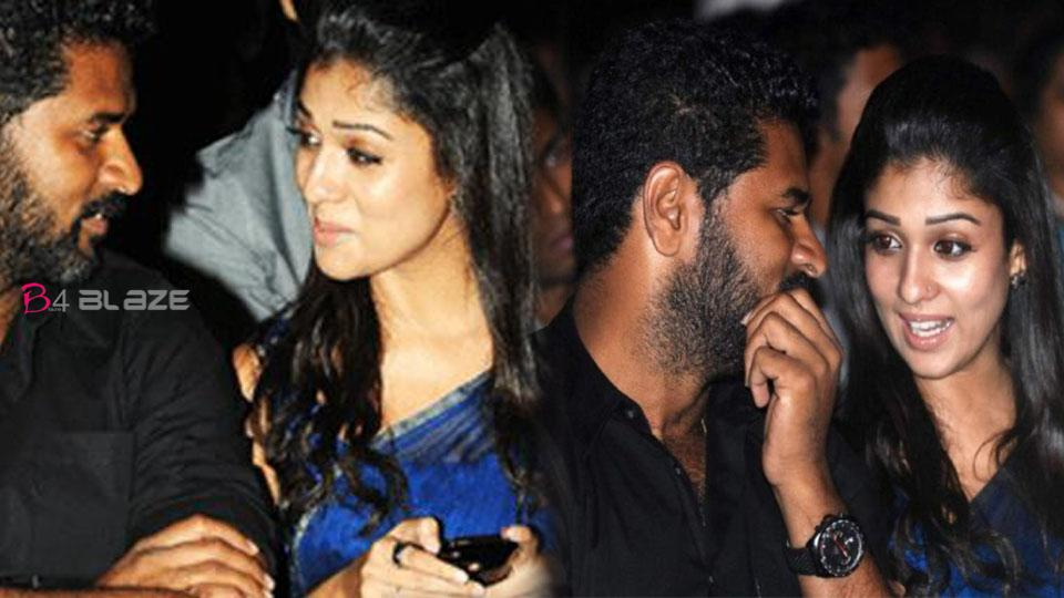 Prabhu Deva re-joins with actress Nayanthara .. What does that mean