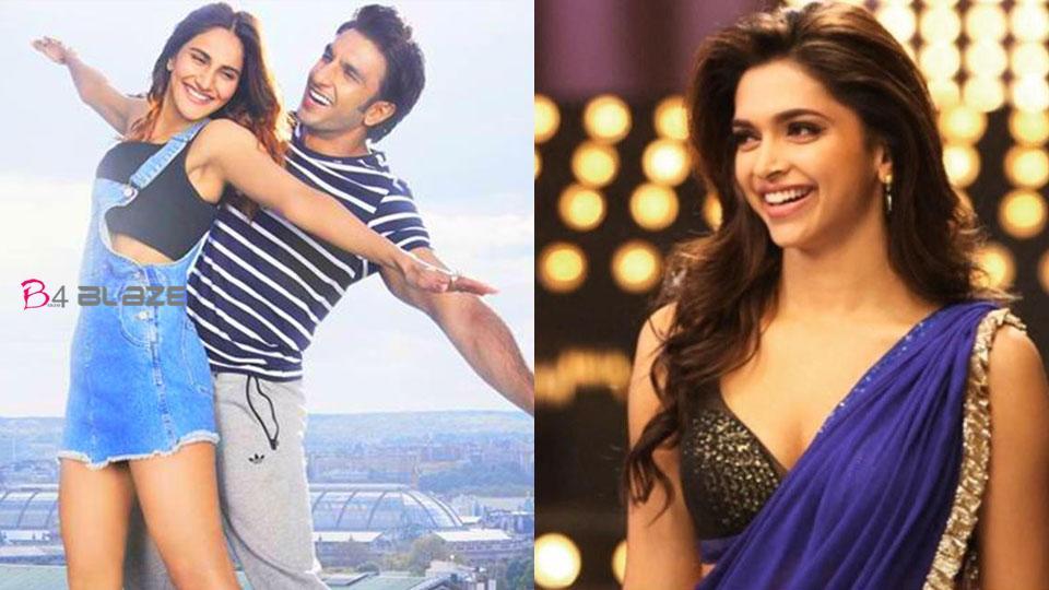 Ranveer Singh kissed Vaani 23 times, and Deepika's Reaction is