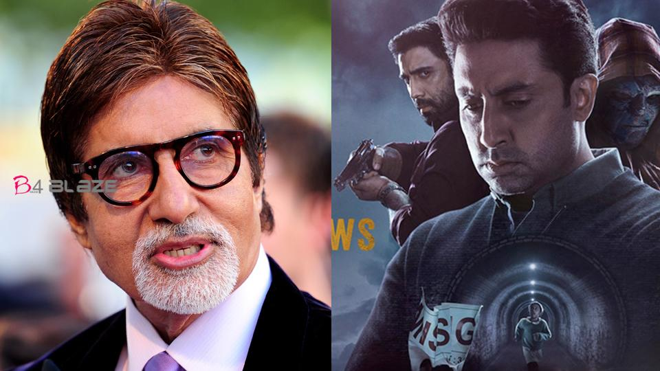 Abhishek Bachchan is making a digital debut with Breathe 2, Amitabh Bachchan has reacted to this
