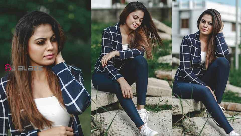 Blue gives freedom to fly Actress Anusree shares Blue Morning Photoshoot