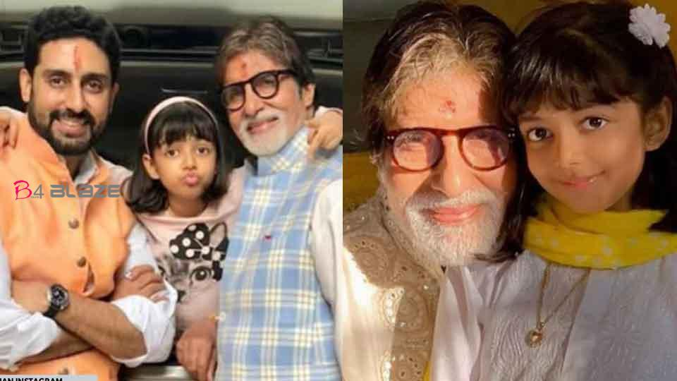 'Don't cry, Grandpa will get better soon'; Aaradhya to Bachchan!