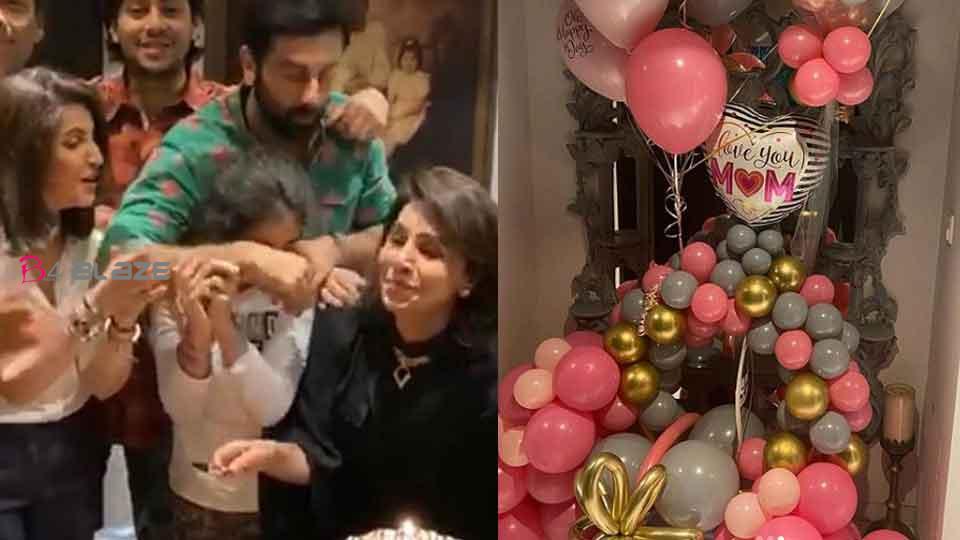Neetu Kapoor shares birthday photos, not Alia Bhatt, but Karan Johar joins celebratio
