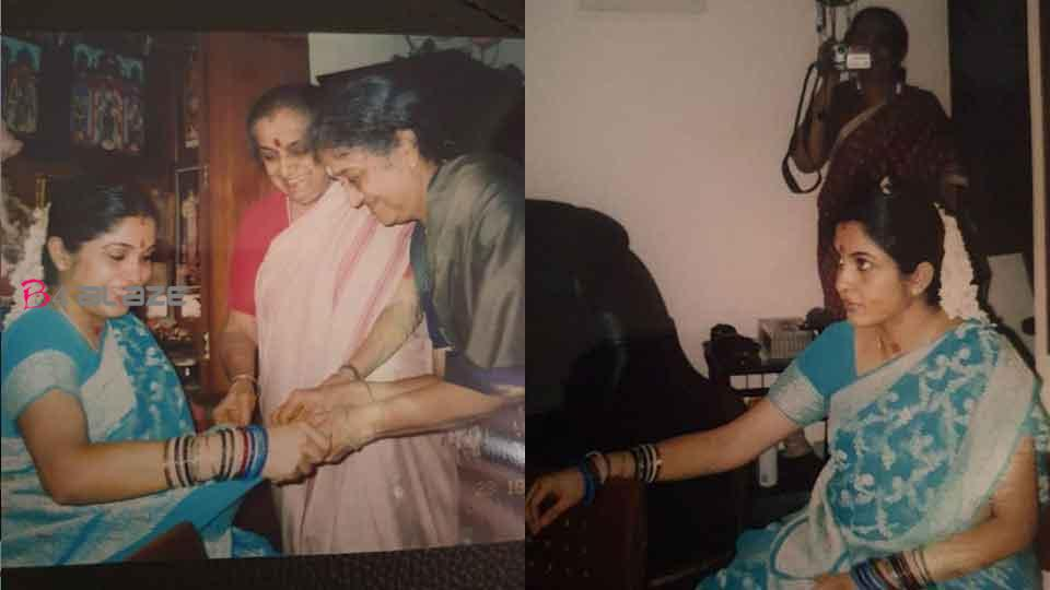Remya Krishnan Shared her Vallaikaapu Photos, Pictures are Viral