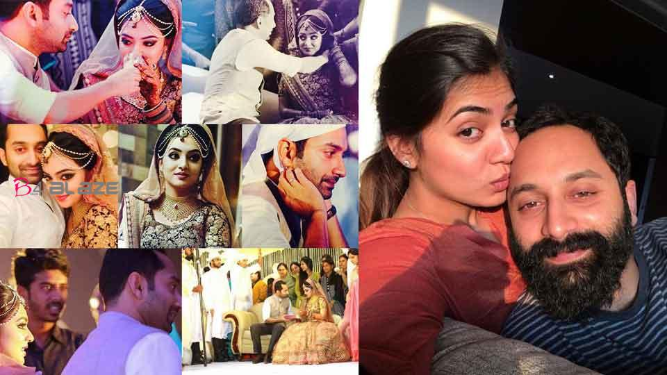 The first thing I did when I got to the set was to see if she was looking at me Fahadh tells the story of his love affair with Nazriya