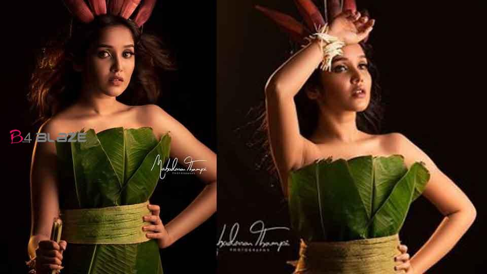 Latest photoshoot on banana leaves, Anika's pictures go viral!