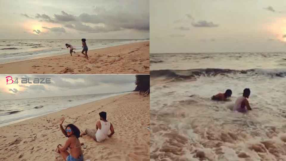 My freedom is everything to me; Amala Paul jumps on an unknown beach in Kochi