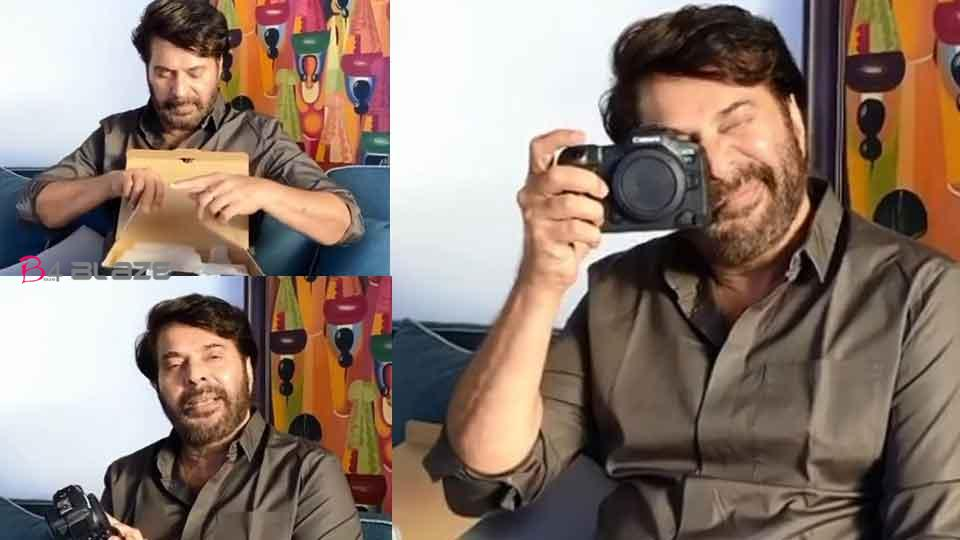 Mammootty brought new Canon cam