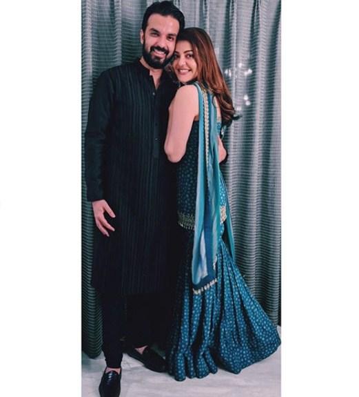 Kajal Aggarwal with Gautham