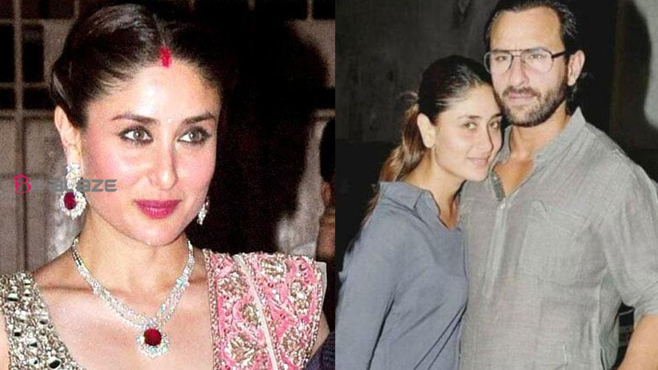Kareena about Saif