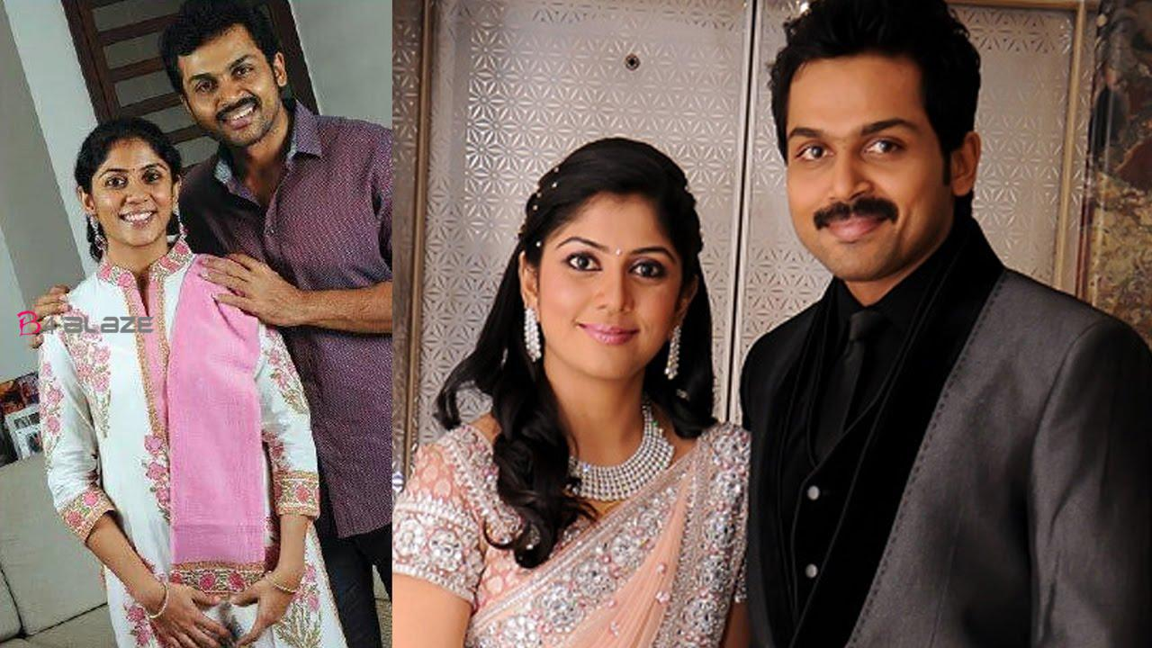 Karthi blessed with a baby boy