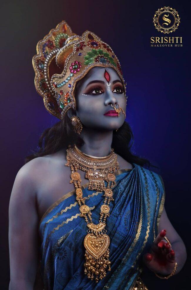 Vinduja Vikraman Navratri special photoshoot 2