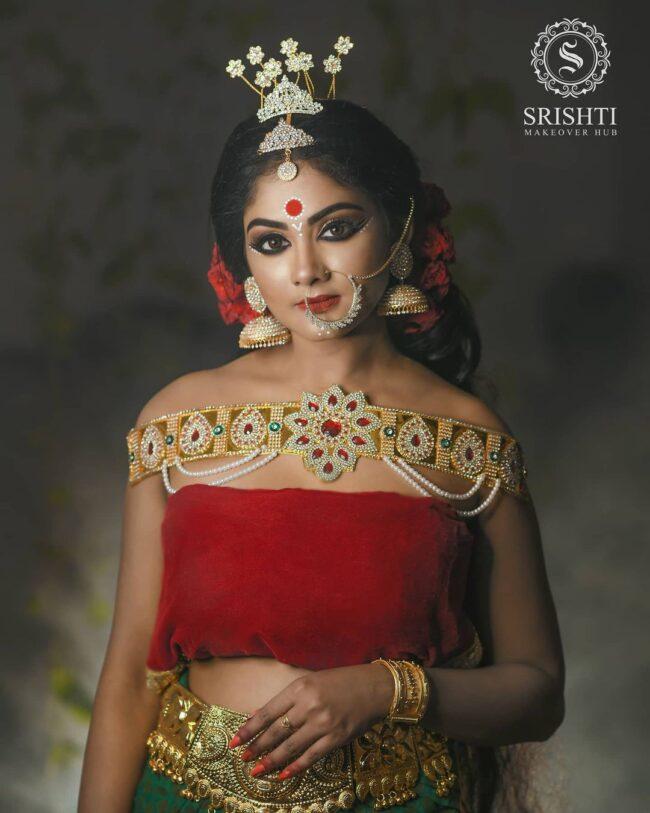 Vinduja Vikraman Navratri special photoshoot 6