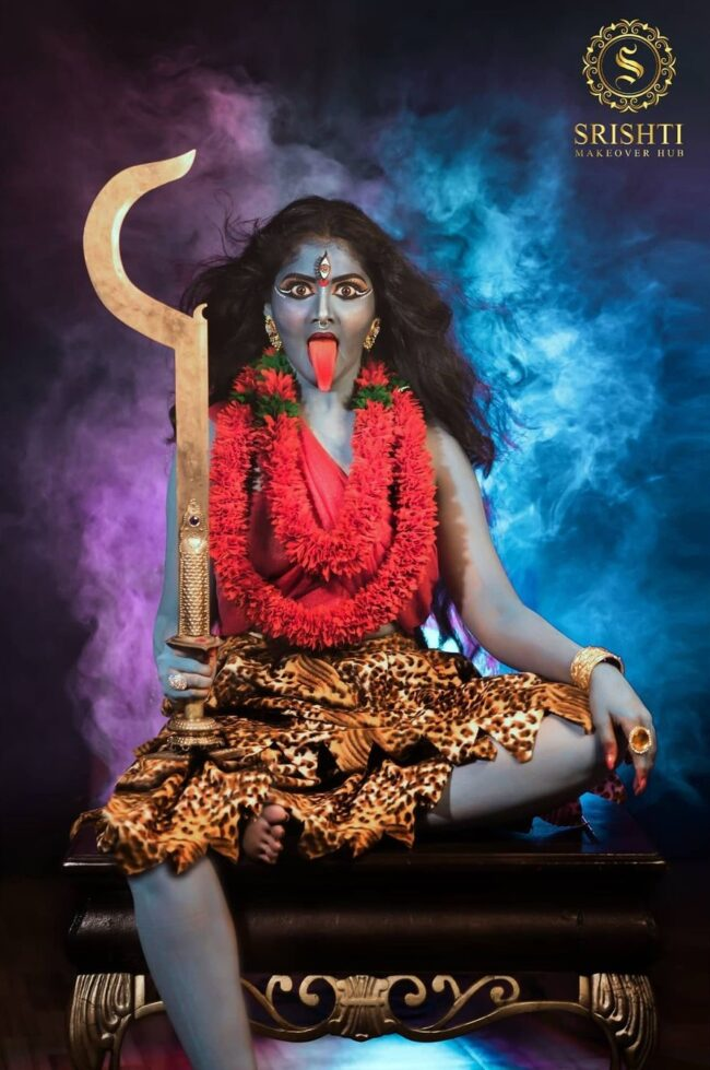Vinduja Vikraman Navratri special photoshoot 7
