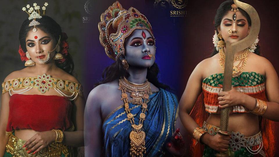 Vinduja Vikraman Navratri special photoshoot