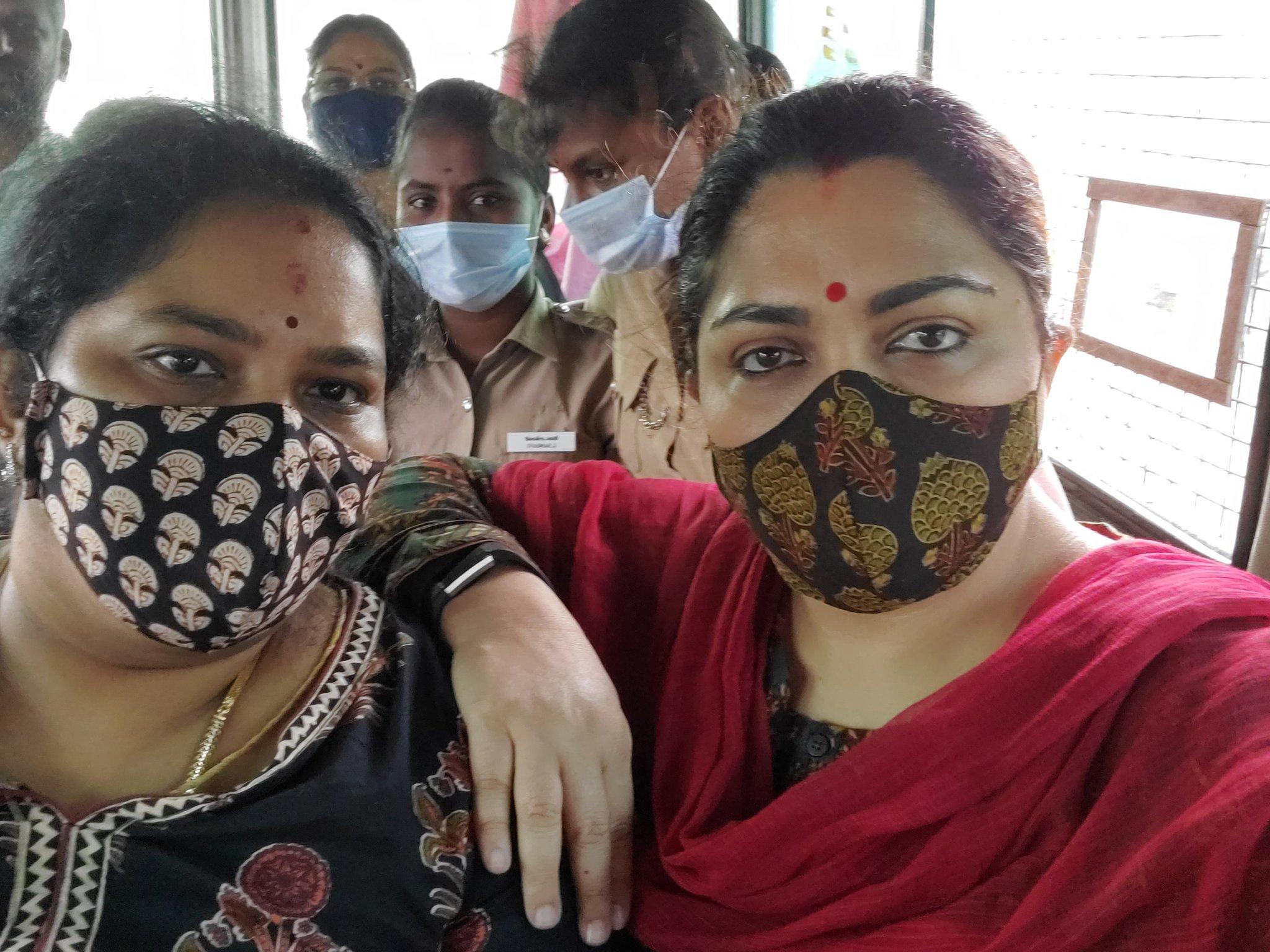 kushbu arrested