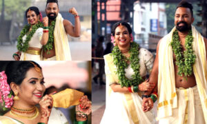 Actress Saranya Anand Wedding