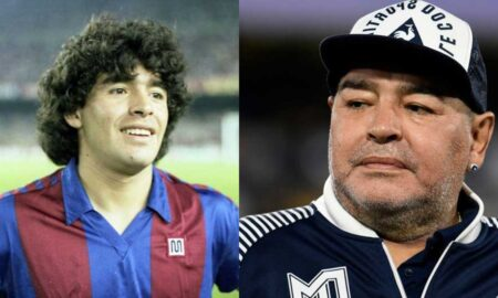 Football legend maradona passed away
