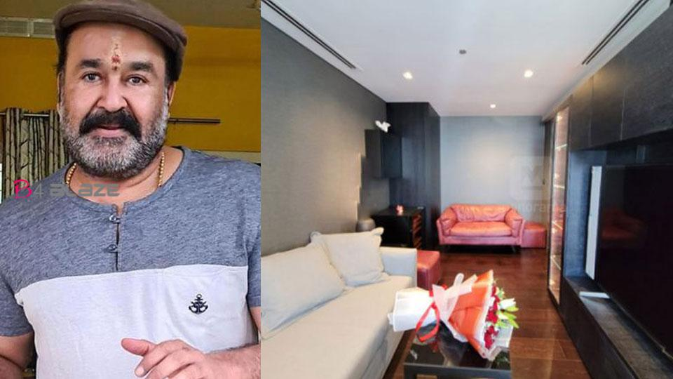 Mohanlal New Flat in Dubai features