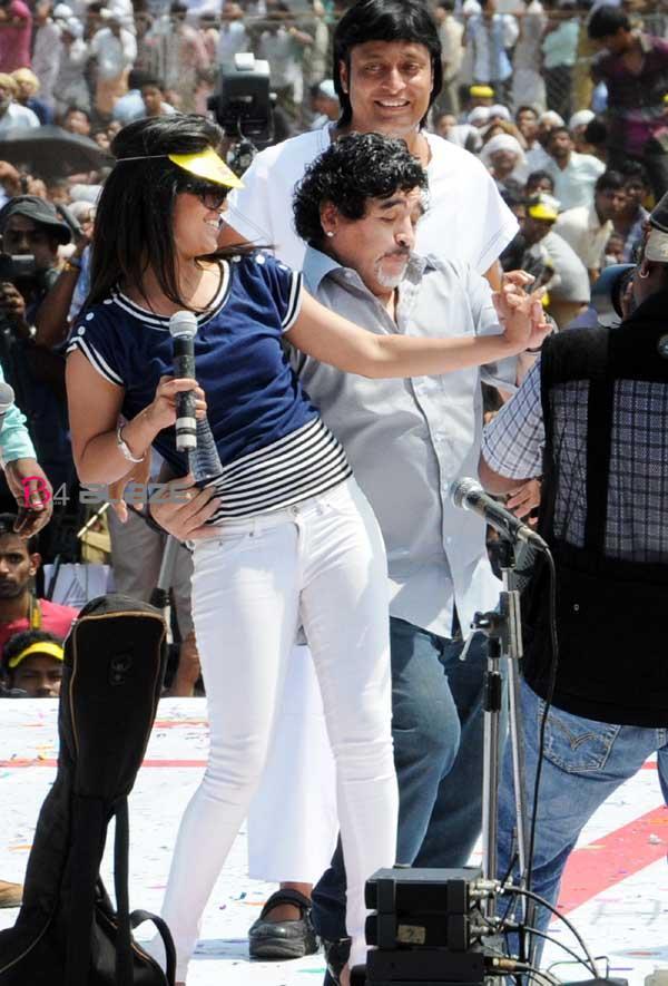 Ranjini and Maradona