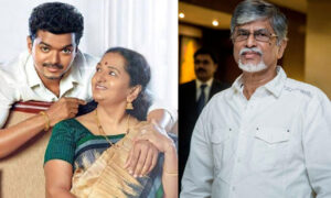 Vijay mother about Vijay and father