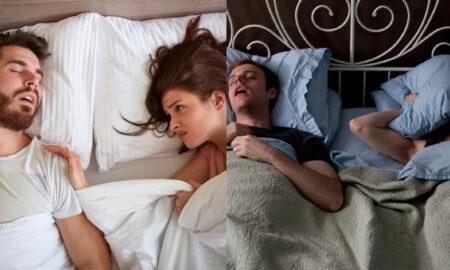 Man talking in sleep reason