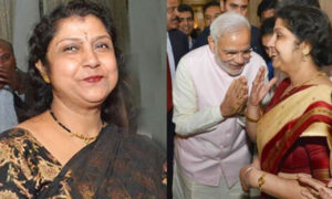 PM Modi with Deepika Mondal