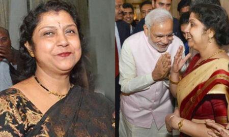 PM Modi with Deepika Mondal