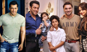 Salman Khan Brother Family