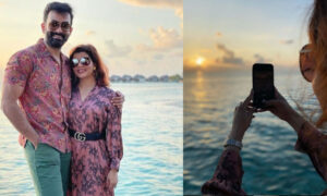 prithviraj and family in maldives