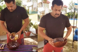 salman khan cooking