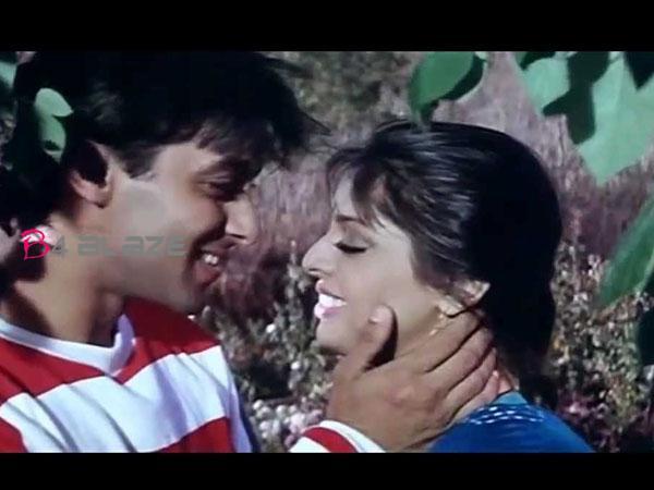 salman khan with Nagma -