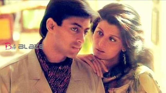 Salman khan with Sangeeta Bijlani